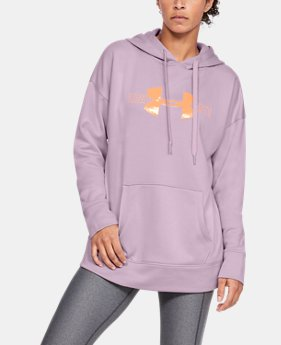 3697ee67b7b17 New Arrival Women's Armour Fleece® Graphic Hoodie 7 Colors Available $55