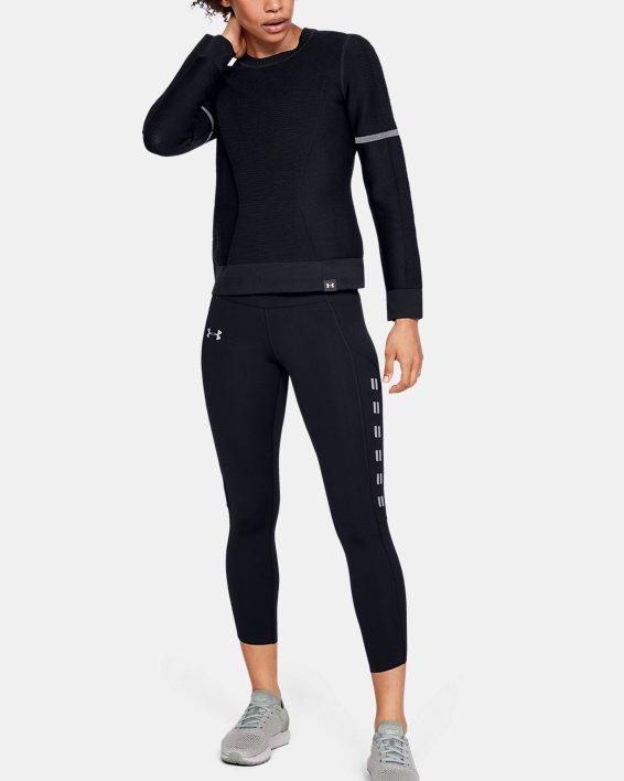 Sweat-shirt UA IntelliKnit pour femme, Black, pdpMainDesktop image number 1
