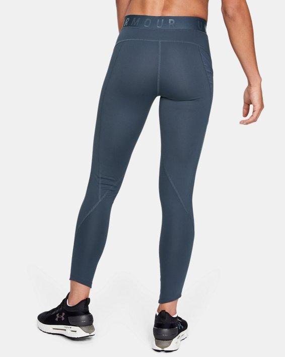Women's UA RUSH™ ColdGear® Leggings, Gray, pdpMainDesktop image number 2