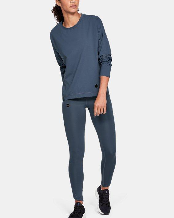 Women's UA RUSH™ ColdGear® Leggings, Gray, pdpMainDesktop image number 1