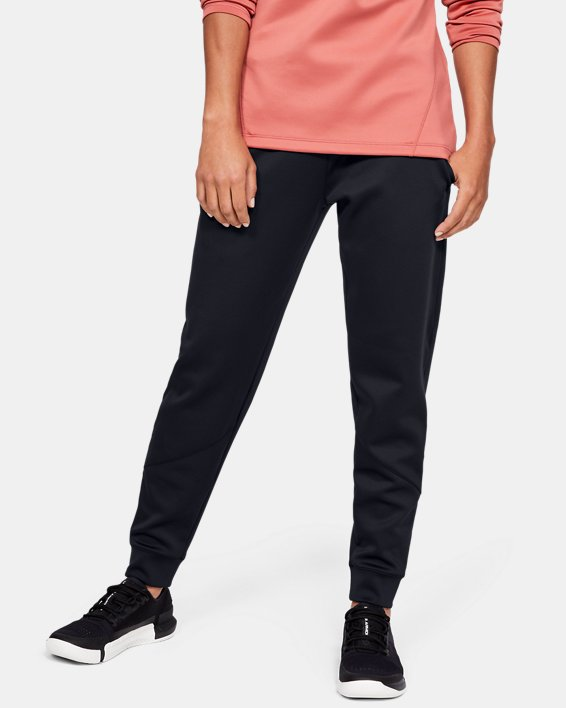 Women's ColdGear® Armour Pants, Black, pdpMainDesktop image number 2