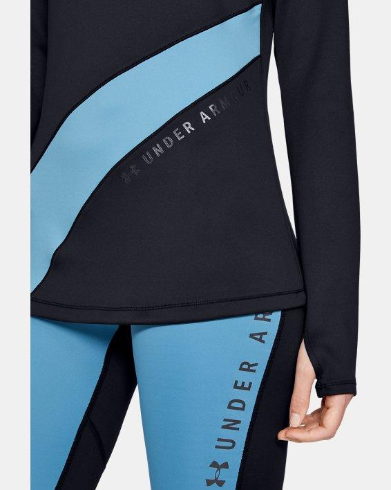 Women's ColdGear® Armour Long Sleeve Graphic, Black, pdpMainDesktop image number 5