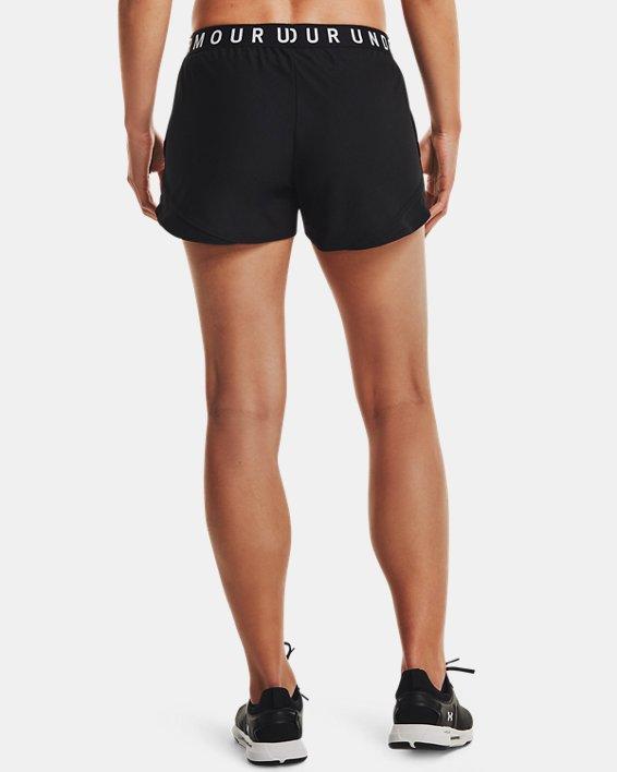 Damen UA Play Up Shorts 3.0, Black, pdpMainDesktop image number 2