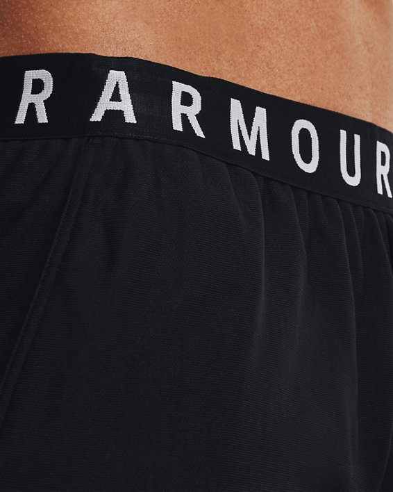 Damen UA Play Up Shorts 3.0, Black, pdpMainDesktop image number 5