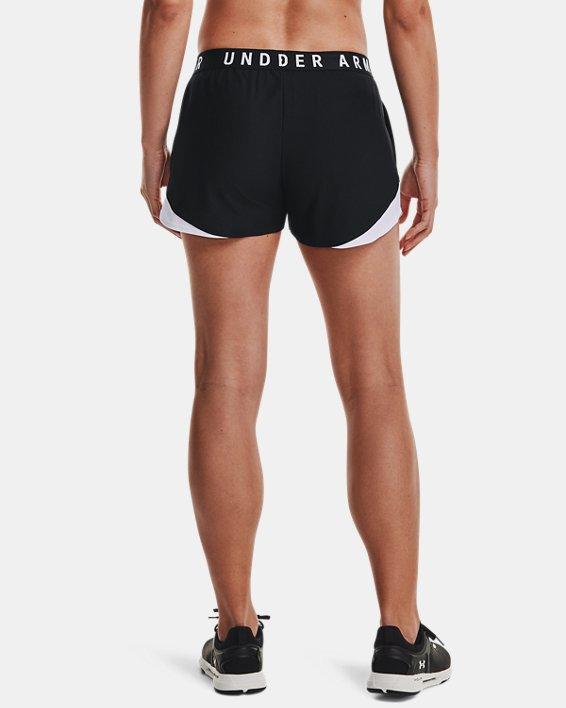 Women's UA Play Up Shorts 3.0, Black, pdpMainDesktop image number 2