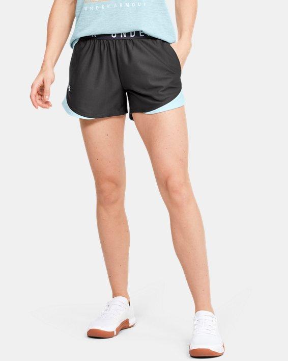 Women's UA Play Up Shorts 3.0, Gray, pdpMainDesktop image number 0