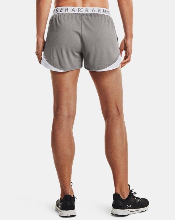 Women's UA Play Up Shorts 3.0, Gray, pdpMainDesktop image number 2