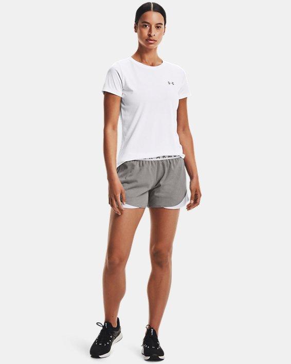 Women's UA Play Up Shorts 3.0, Gray, pdpMainDesktop image number 1
