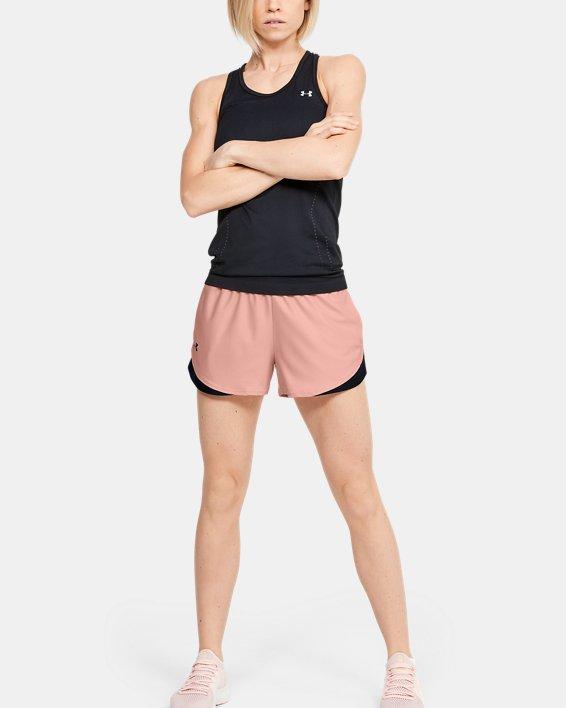 Women's UA Play Up Shorts 3.0, Orange, pdpMainDesktop image number 1