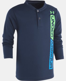 New Arrival Boys' Toddler UA Ringer Henley  1  Color Available $29