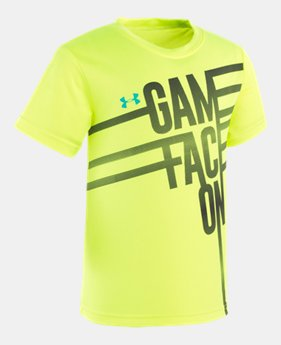 3f6666f51a Boys' Yellow Little Kids (Size 4-7) Graphic T's | Under Armour US