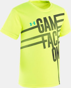 Boys' Pre-School UA Game Face On Short Sleeve  1  Color Available $18