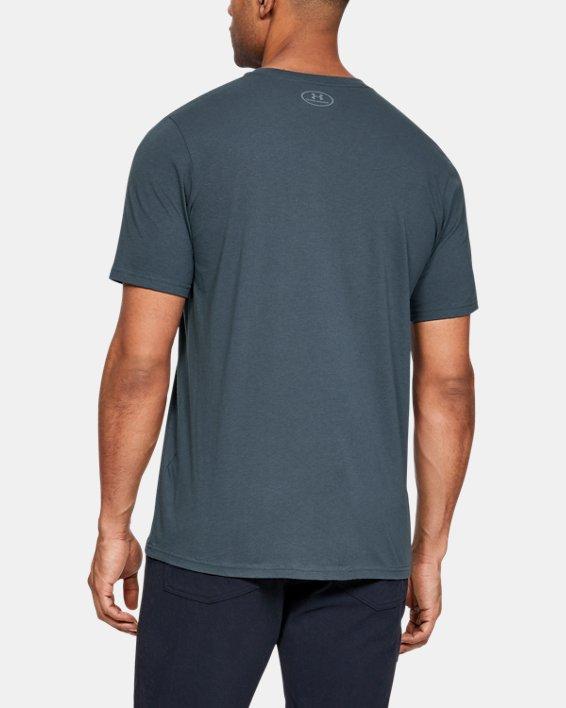 Men's UA Hunt Logo T-Shirt, Gray, pdpMainDesktop image number 2
