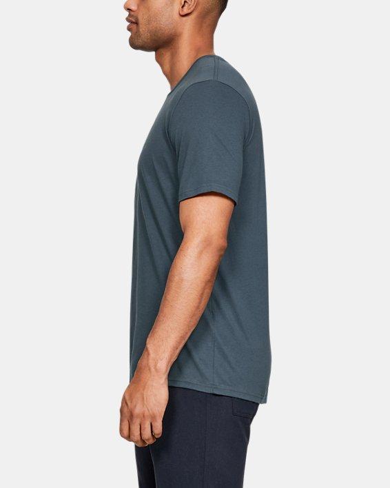 Men's UA Hunt Logo T-Shirt, Gray, pdpMainDesktop image number 3