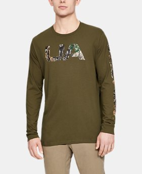 cd0843c4a1ec9 New Arrival Men's UA Camo Fill Long Sleeve 4 Colors Available $30