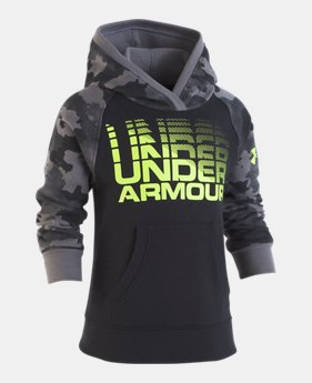 Boys  Pre-School UA Traverse Camo Hoodie 1 Color Available  32.99 556340e1102e0