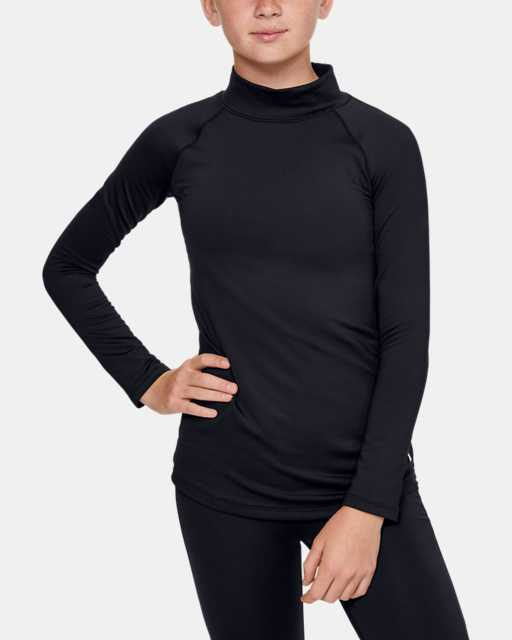 Girls' ColdGear® Long Sleeve Mock