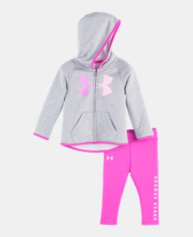 Girls  Newborn UA Twist Logo Hoodie Set 1 Color Available  30.1 f922b85f9