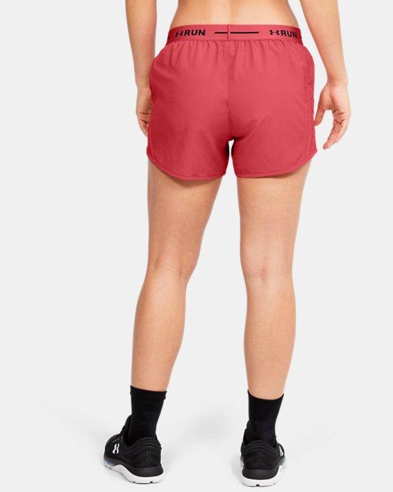 Women's UA Mileage Exposed Shorts, Orange, pdpMainDesktop image number 2