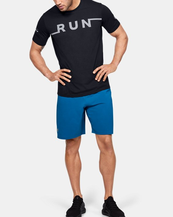 Men's UA Run T-Shirt, Black, pdpMainDesktop image number 1