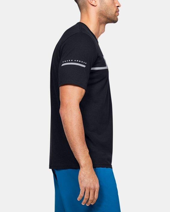 Men's UA Run T-Shirt, Black, pdpMainDesktop image number 3