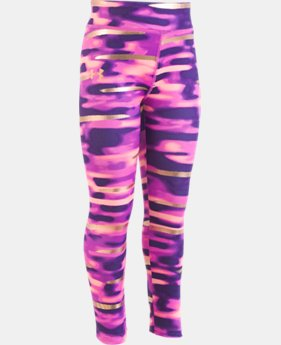 New Arrival Girls Pre-School UA Voltage Leggings  1  Color Available $30