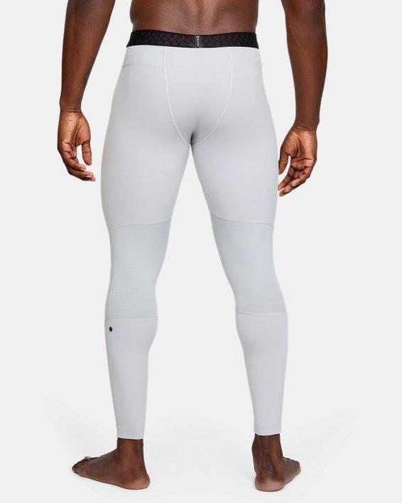 Men's UA RUSH™ ColdGear® Leggings, Gray, pdpMainDesktop image number 2