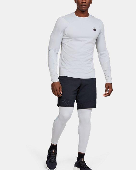 Men's UA RUSH™ ColdGear® Leggings, Gray, pdpMainDesktop image number 0