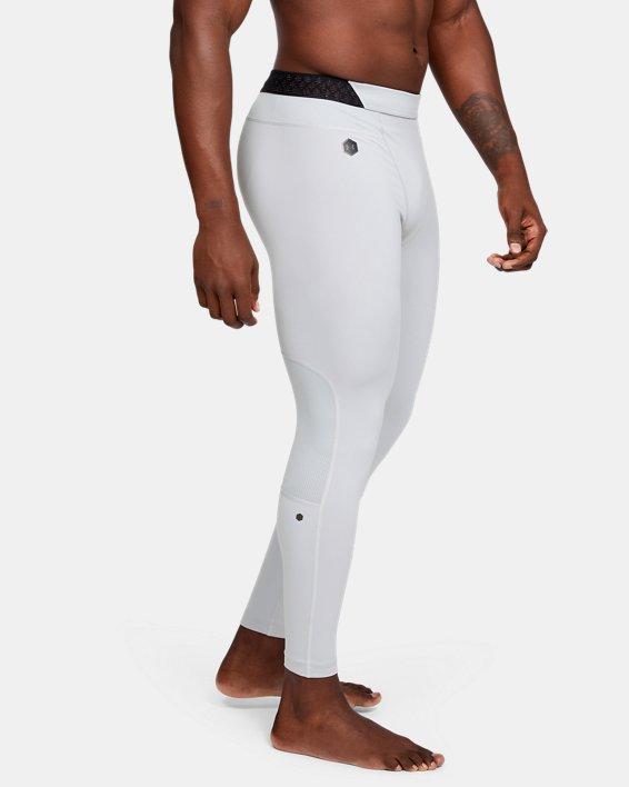 Men's UA RUSH™ ColdGear® Leggings, Gray, pdpMainDesktop image number 3