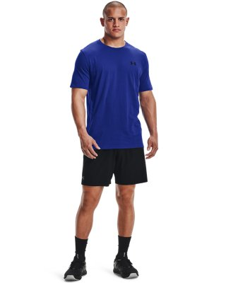 Under Armour UA Men/'s Charged Cotton Left Chest Lockup T-Shirt New