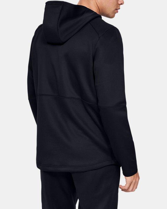 Men's UA MK-1 Warm-Up Full Zip Hoodie, Black, pdpMainDesktop image number 2