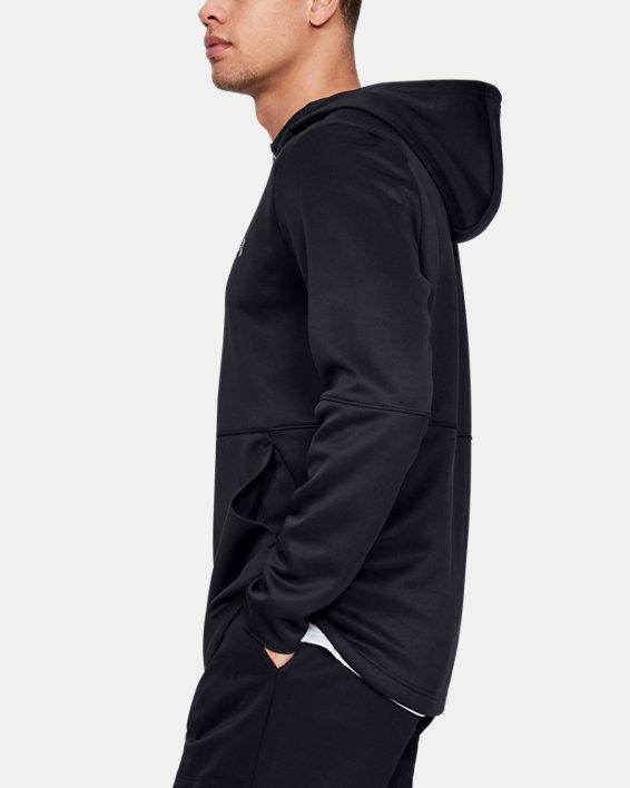 Men's UA MK-1 Warm-Up Full Zip Hoodie, Black, pdpMainDesktop image number 3