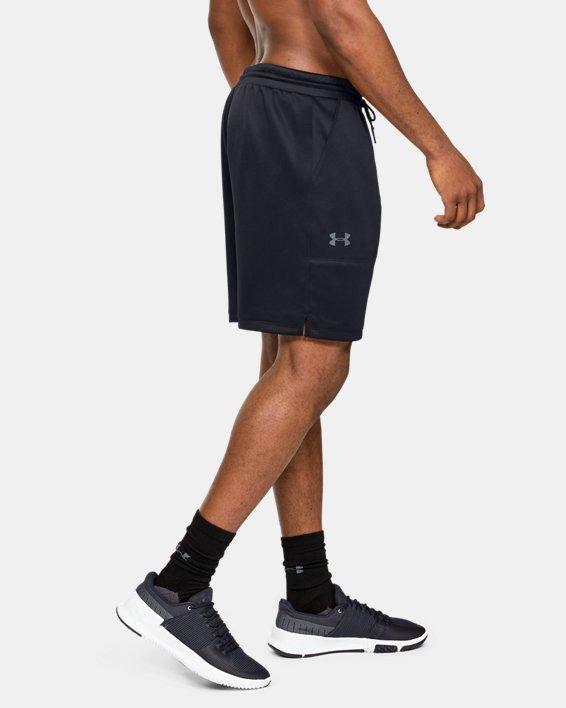 Men's UA MK-1 Warm-Up Shorts, Black, pdpMainDesktop image number 3