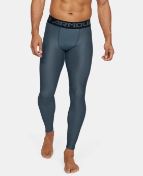 9f3cb69bb11403 New Arrival Men's HeatGear® Armour 2.0 Printed Leggings 1 Color Available  $40