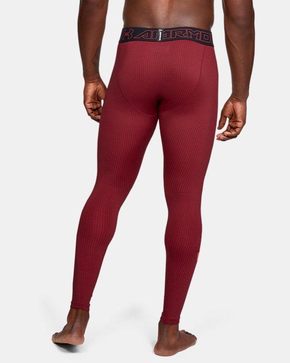 Men's ColdGear® Armour Leggings, Black, pdpMainDesktop image number 2