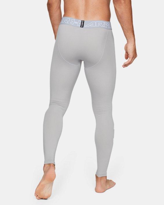 Men's ColdGear® Armour Leggings, Gray, pdpMainDesktop image number 2
