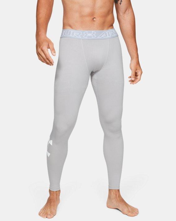 Men's ColdGear® Armour Leggings, Gray, pdpMainDesktop image number 0