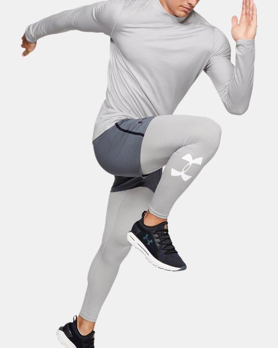 Men's ColdGear® Armour Leggings, Gray, pdpMainDesktop image number 1