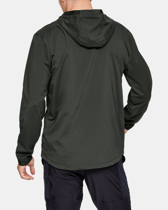 Men's UA Vanish Woven Jacket, Green, pdpMainDesktop image number 2
