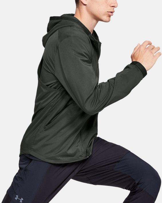 Men's UA Vanish Woven Jacket, Green, pdpMainDesktop image number 0