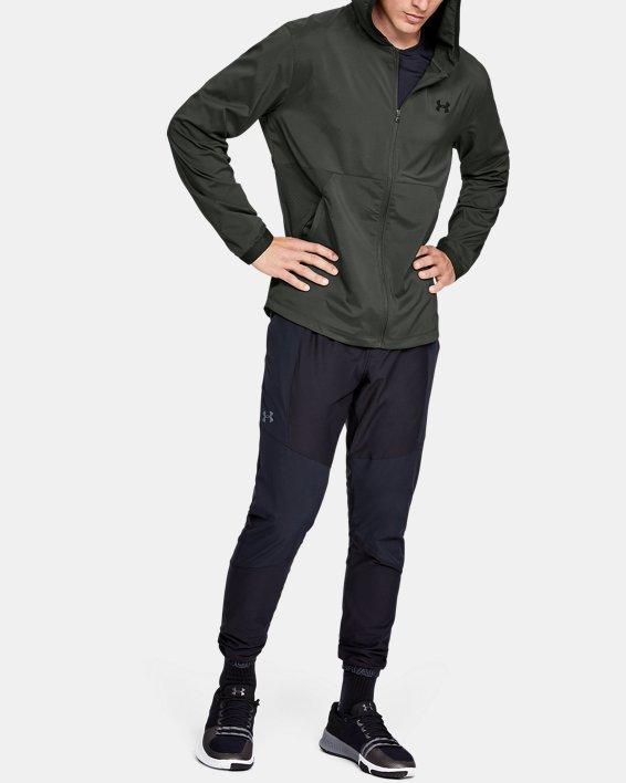 Men's UA Vanish Woven Jacket, Green, pdpMainDesktop image number 1