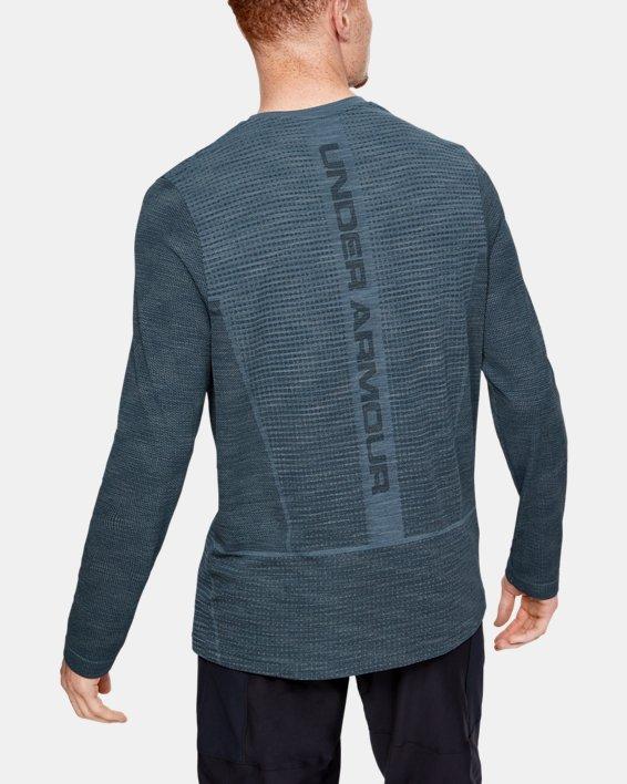 Men's UA Vanish Seamless Long Sleeve, Gray, pdpMainDesktop image number 0