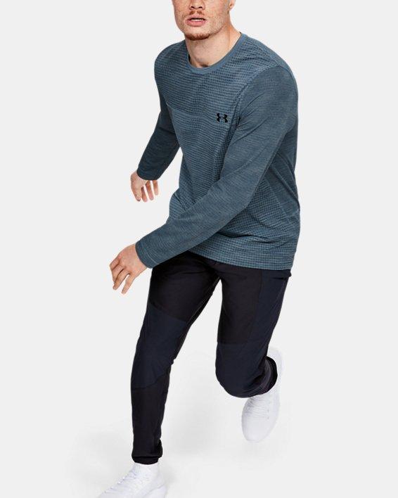 Men's UA Vanish Seamless Long Sleeve, Gray, pdpMainDesktop image number 1