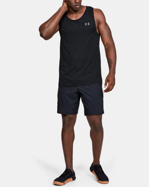 Men's UA Vanish Seamless Tank, Black, pdpMainDesktop image number 1