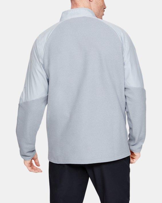 Men's ColdGear® Infrared ½ Zip, Gray, pdpMainDesktop image number 2