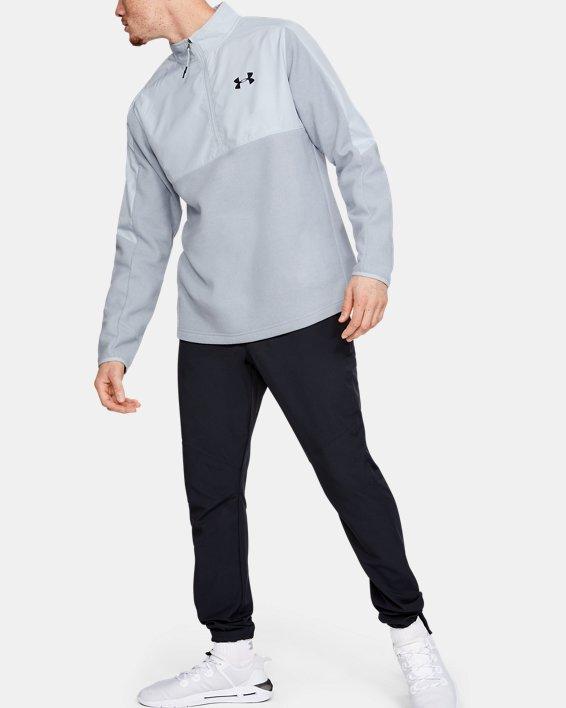 Men's ColdGear® Infrared ½ Zip, Gray, pdpMainDesktop image number 0