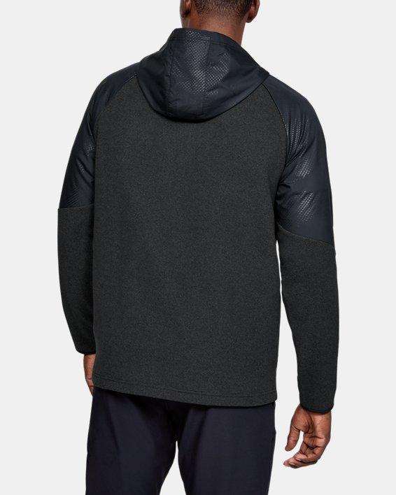 Men's ColdGear® Infrared Full Zip Hoodie, Black, pdpMainDesktop image number 0