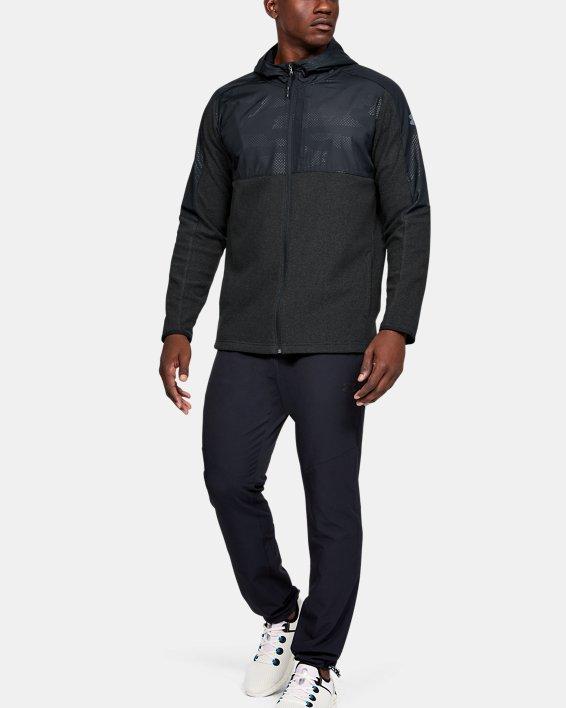 Men's ColdGear® Infrared Full Zip Hoodie, Black, pdpMainDesktop image number 1