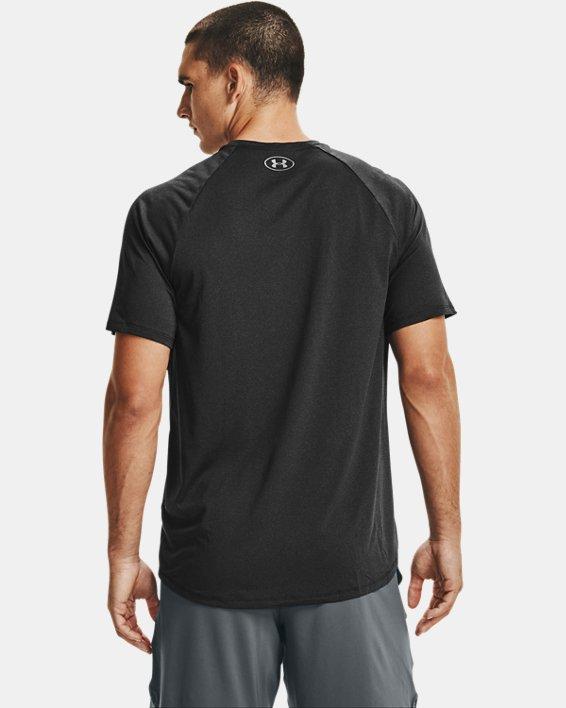 Men's UA Tech™ 2.0 Short Sleeve T-Shirt, Black, pdpMainDesktop image number 2