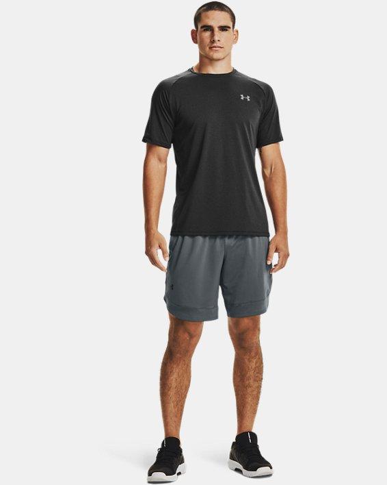 Men's UA Tech™ 2.0 Short Sleeve T-Shirt, Black, pdpMainDesktop image number 4